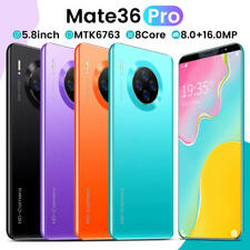 5.8 inch 4+64G Smartphone Dual SIM Card Octa Core Android 9.1 Smart Mobile Phone