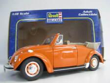 VW Käfer Cabrio in orange Volkswagen Convertible  Revell  Maßstab 1:18 OVP