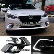 Direct Fit High Power LED Daytime Running Light DRL Driving Lamp Mazda3 3 14-16