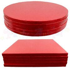 LOTE 5 paquete de Culpitt Pastel Cabezal Redondo/Cuadrado DE COLOR Tambor Tabla
