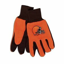 Cleveland Browns Two Tone Adult Size Gloves [NEW] NFL Work Hands Scarf Hat