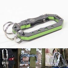 """""""The Mechanic Hung"""" Stainless Steel/Al Quick Release Carabiner Key holder Hook"""
