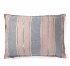 Ralph Lauren King Oakview Red Navy Pillow Sham Essex New Msrp $130