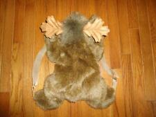 Large Moose Backpack Exclusive Stuffed Animal House BC Canada 18 inch