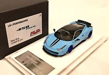 1/43 D&G MS Davis & Giovanni LB Widebody Ferrari 458 Baby Blue