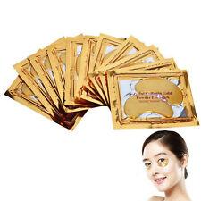 1 Pair Gold Eye Collagen Aging Wrinkle Under Crystal Gel Patch Anti Mask