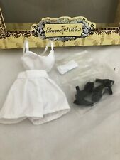 Essential Amber FULL OUTFIT - Tonner Ellowyne Wilde doll fashion - cute white