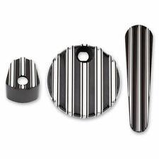 Arlen Ness Black 10 Gauge Dash Accessory Pack Harley Touring 2014-2017 Bagger