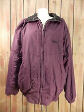 Nordica Classic Jacket Ski Coat Reversible Maroon w/Fleece Lined Size XL Men's