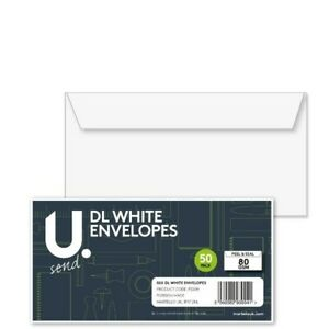 U. Send DL ENVELOPES SELF SEAL 80gsm With/without WINDOW OPTIONS FROM 1-2400 F&F