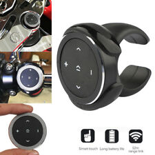 Wireless Bluetooth MP3 Media Remote Control Button Car Steering Wheel Bike Mount