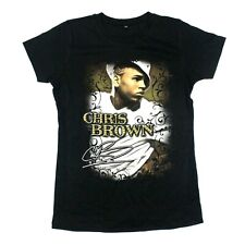 Chris Brown Junior's Portrait Tee - Continental - Black - L