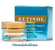 NIB Spa Cosmetics Spa Retinol & Vitamin E Eye Cream w/Dead Sea Minerals 1fl.oz.