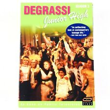 Degrassi Junior High - Season 3 (DVD, 2005, 3-Disc Set) Box Set