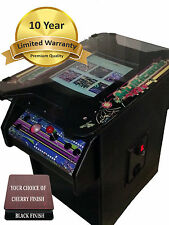 cocktail arcade game 10 YEAR WARRANTY-FREE SHIPPING- AND 2 FREE STOOLS