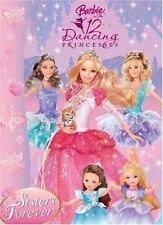 Sisters Forever: Barbie in the 12 Dancing Princesses (Deluxe Coloring Book)