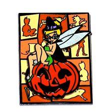Disney Pin✿Tinker Bell Tink Halloween Witch Costume Pumpkin 3D Rare Sparkle Wing