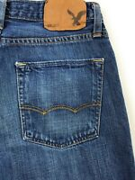 American Eagle Outfitters Slim Straight Blue Jeans Men's 28x30 Actual 28x29