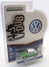 Greenlight V-Dub 1/64 Scale 29870-F - Volkswagen Beetle Taxi Cab - Green/White