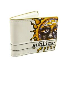 Sublime Sun Logo Faux Leather Bifold Wallet