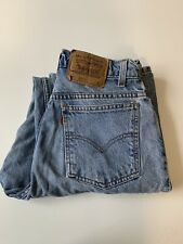 Vtg Levis Womens 10 Med  951 Orange Tab Relaxed Fit Tapered 15951
