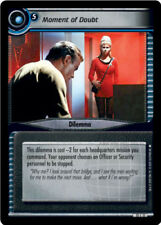Star Trek 2E: Moment Of Doubt [Ungraded] These are the Voyages STCCG Decipher 2E
