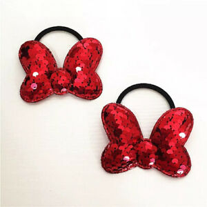 2pcs cute bow hair band for Children's Beautiful red colour hair Accessories