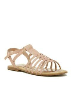 Stuart Weitzman Girls' Camilia Glittery Sandal Toddler Size 9 Rose Gold
