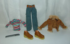 Bratz Boyz School Cool Fashion Outfit , Bratz Boy Doll clothes. Boots, Pants