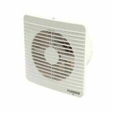 Plumbob 100mm (4 inch) Bathroom Air Extractor Fan (Wall or Window)
