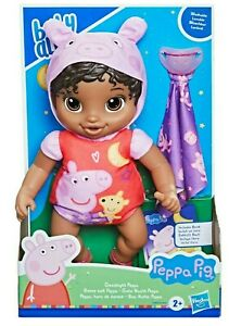 Baby Alive GOODNIGHT PEPPA PIG African American First Baby Doll WASHABLE Outfit