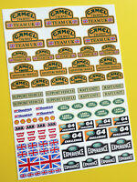 RC Rock Crawler 'CAMEL TROPHY TEAM UK' 10th scale stickers decals RC4WD D90