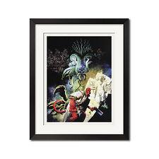 Hellboy Urban Comic Art Poster Print 0482