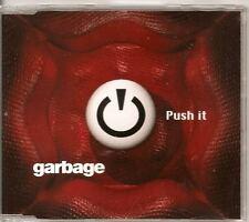 GARBAGE Push It RARE EUROPEAN 4 TRACK CD EP