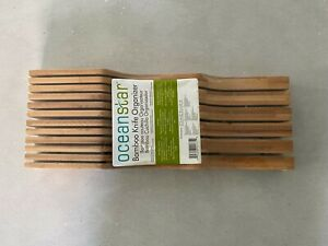 Oceanstar in- Drawer Bamboo Knife Organizer, 17 L x 6.12 W x 2.25 H inches
