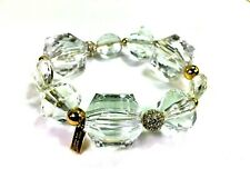 Kate Spade Sparkle Plenty Bracelet NWT Faceted Beads & Pave Crystal Orbs DH