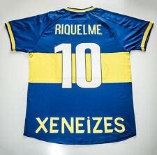 Camiseta Futbol Retro/ Riquelme Boca Juniors 2001 Final Intercontinental