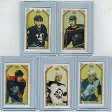 (5) 2003-04 TOPPS C55 HOCKEY MINI RED BACK LOT DUSTIN BROWN RC O'CANADA RED BACK