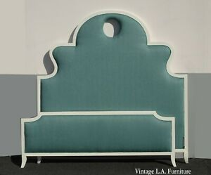 Lily & Jack Contemporary Modern Green King Headboard and Footboard