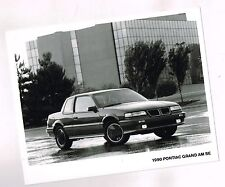 1990 Pontiac GRAN AM Factory Press Kit Photo <frm brochure> : SE