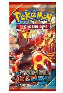 Pokemon TCG Primal Clash 1x 10-card Booster Pack IN STOCK !!