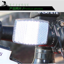 1pc Bike Bicycle Reflector Light Reflective Road Strips Stick Front Rear Tool