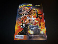 SIGNED ERIC POWELL BIG TROUBLE IN LITTLE CHINA #1 JACK BURTON REGULAR COVER 1PR