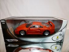 HOT WHEELS 23911 FERRARI F40 - RED 1:18 - EXCELLENT IN BOX