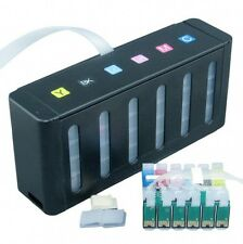 CISS bulk ink system for Ep Stylus Photo 1410 printer with auto reset chip