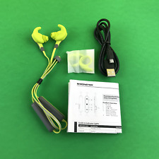 Monster iSport Intensity Green In-Ear Wireless Headphones #5421