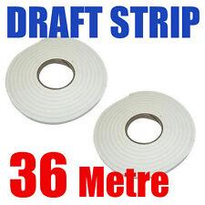 36M Foam Window Door Draft Draught Excluder Weather Strip Insulation Roll