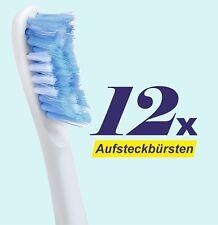12 x Ersatzbürstenköpfe für Philips Sonicare Aufsteckbürsten HX3024, Bürstenkopf