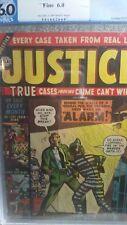 Justice Comic by Atlas, PGX Graded 6.0, #32, December 1952