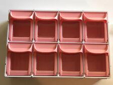 Livinbox Shuter Small Parts Mountable or Desktop Tilt Out Storage -8 Bins